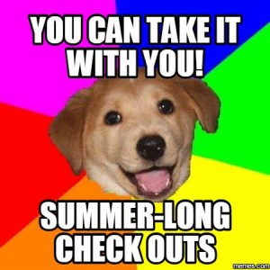 summer-long check outs