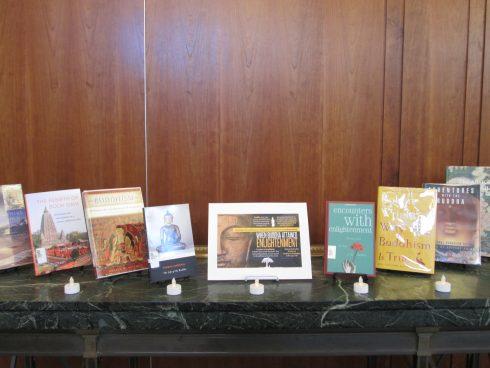 Bodhi Day book display