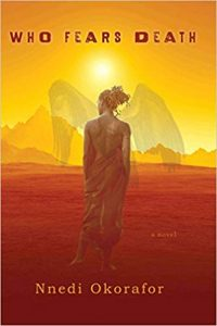 Cover Art for Who Fears Death by Nnedi Okorafor
