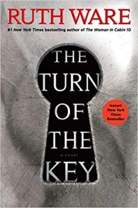 Cover Art for The turn of the Key by Ruth Ware