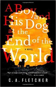 Cover of the book A Boy and His Dog at the End of the World by C. A. Fletcher