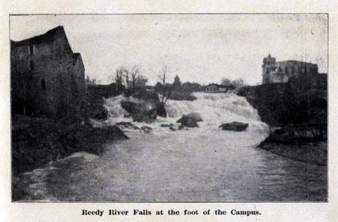 Reedy River Falls at the Foot of Campus