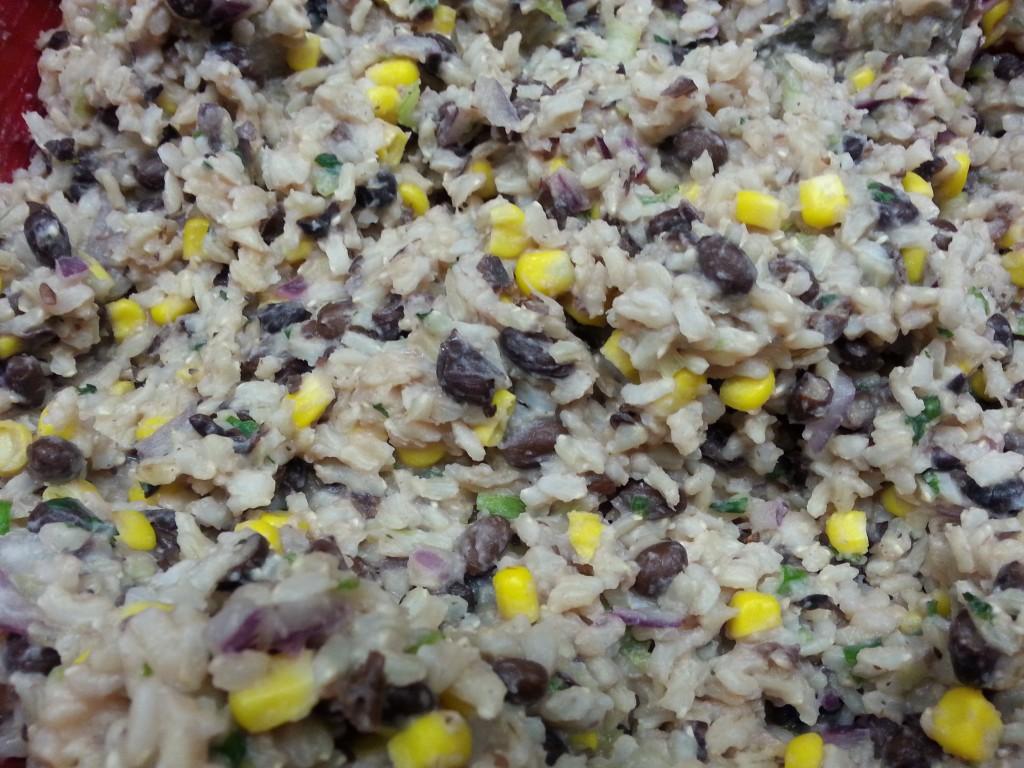 cilantro lime brown rice (2)