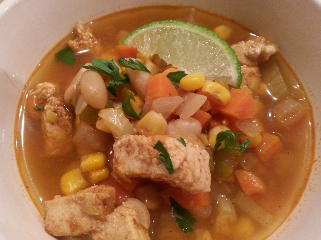 z food- white bean and chicken chili (3)