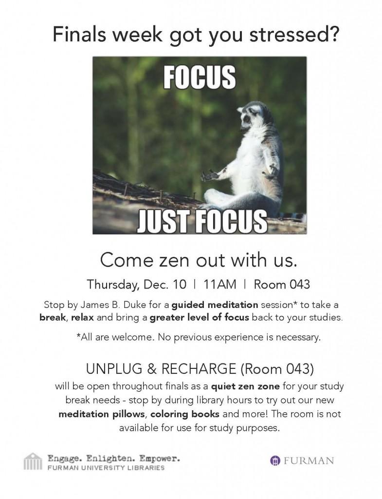 FINAL Finals Week Guided Meditation Poster 2
