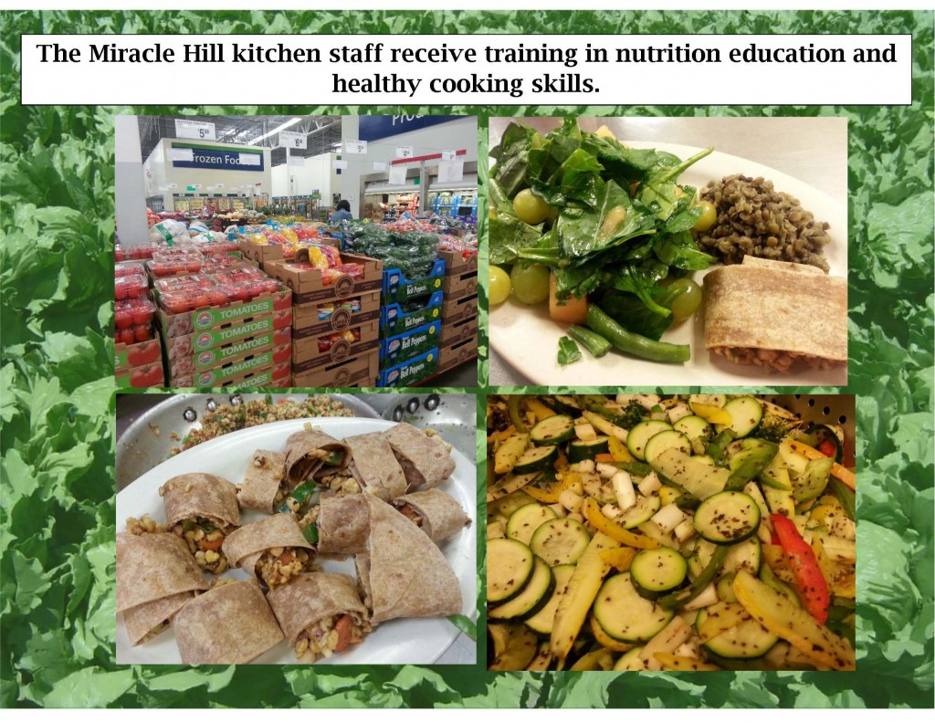 Miracle Hill Kitchen Training