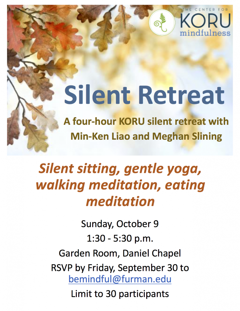 16 KORU retreat flyer