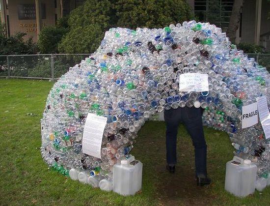 plastic-bottle-igloo