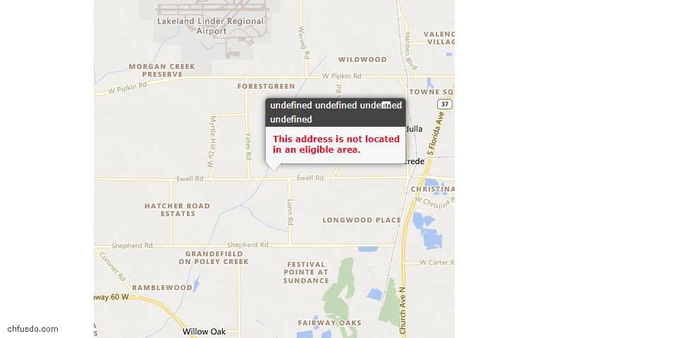 USDA Loan Eligiblity Maps From - Pinetta (Madison County), FL