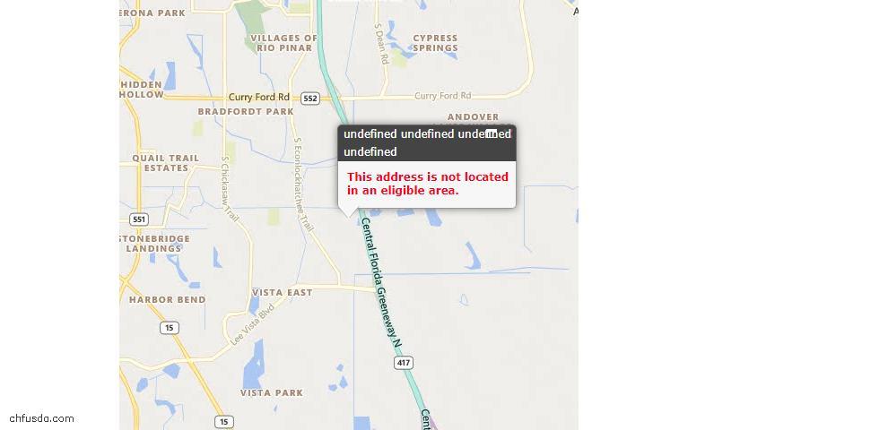 USDA Loan Eligiblity Maps From - Archer, FL