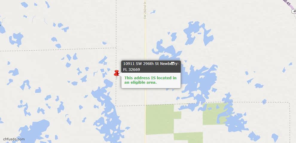 USDA Loan Eligiblity Maps From - 32669, FL