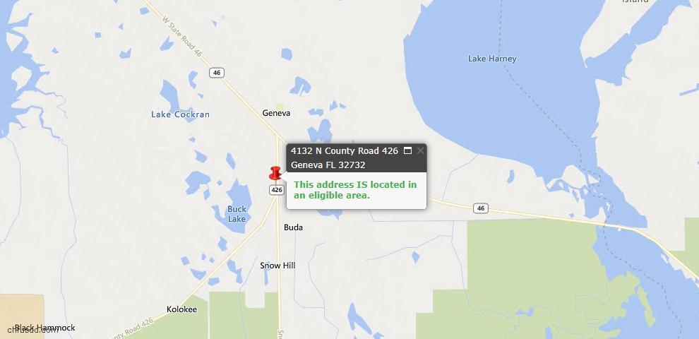 USDA Loan Eligiblity Maps From - Geneva, FL