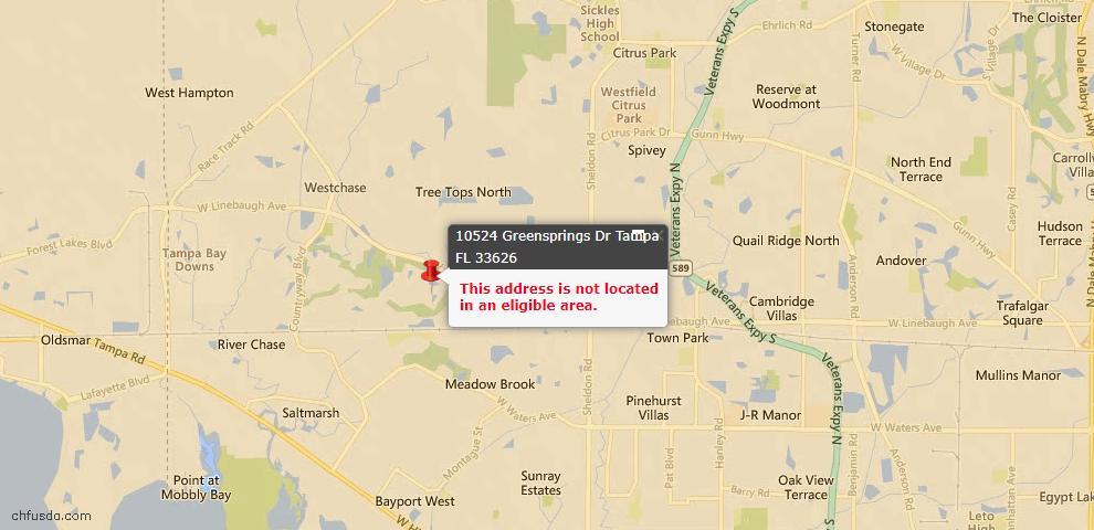 USDA Loan Eligiblity Maps From - Hillsborough County, FL