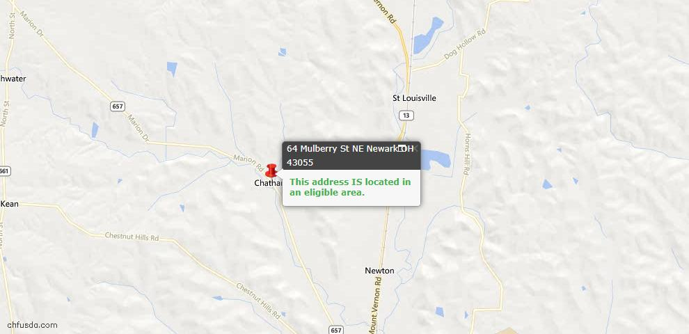 USDA Loan Eligiblity Maps From - Perry County, OH