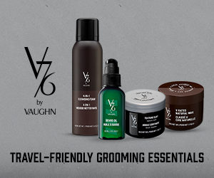 V76 Travel-Friendly Grooming Essentials