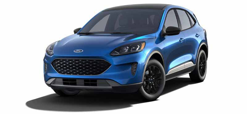2020 Ford Escape Blackout Package