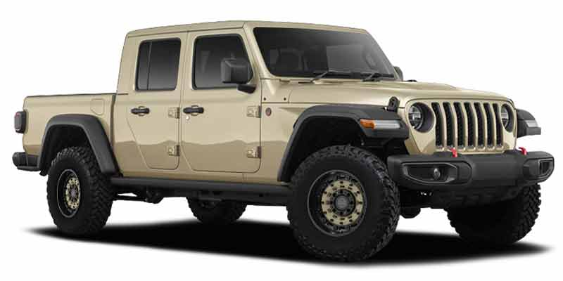 2020 Jeep Gladiator Blackout Package