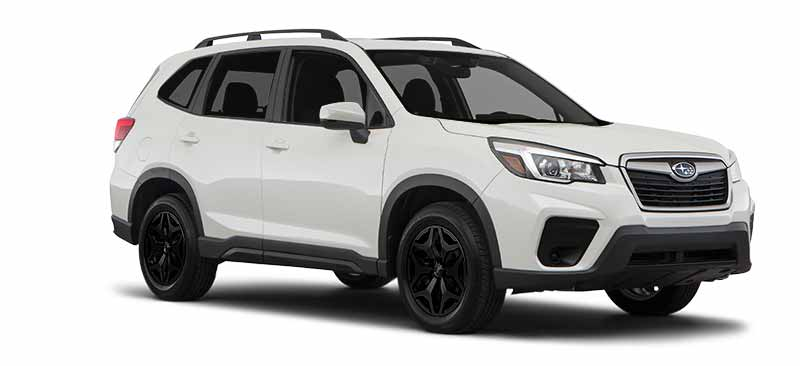 2020 Subaru Forester Blackout Package