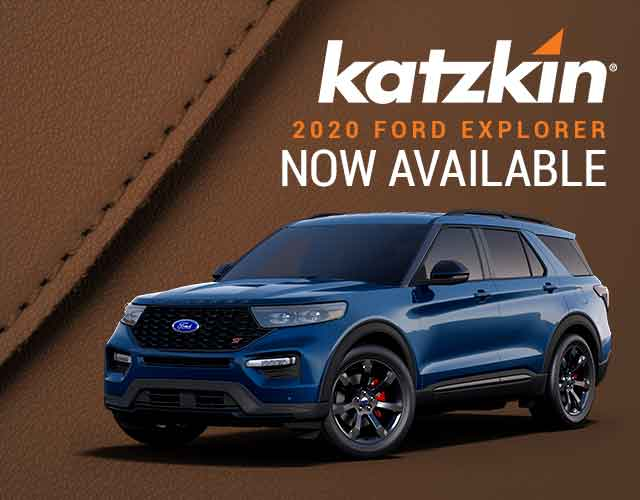 2020 Ford Explorer Katzkin leather seating now available