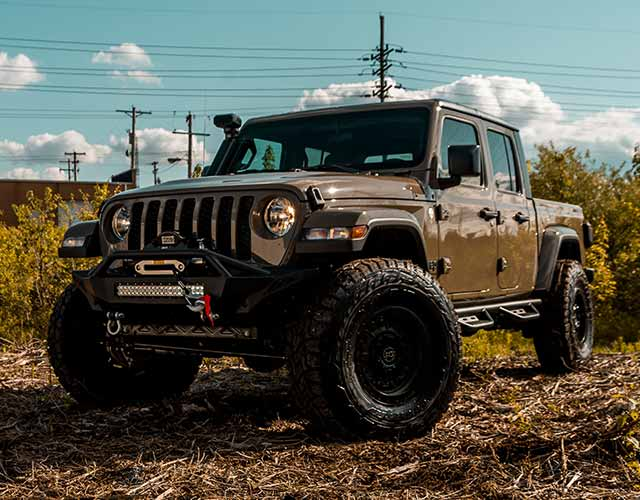 2020 Jeep Gladiator Sport Offroad Build