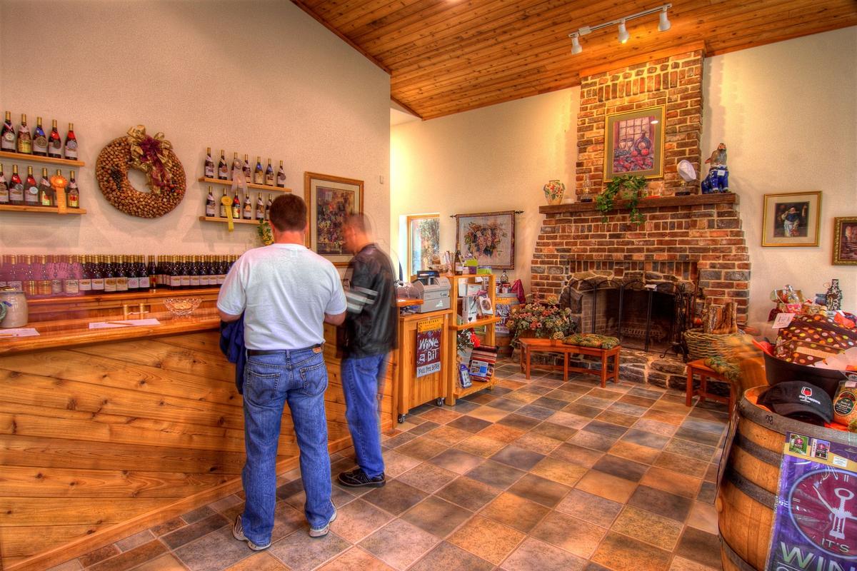 The Abingdon Vineyard and Winery in Abingdon, VA