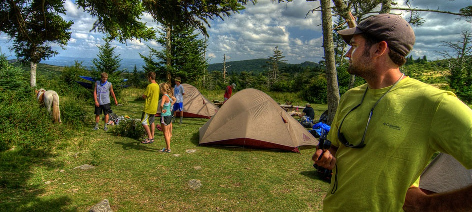 Camping and hiking opportunities abound.