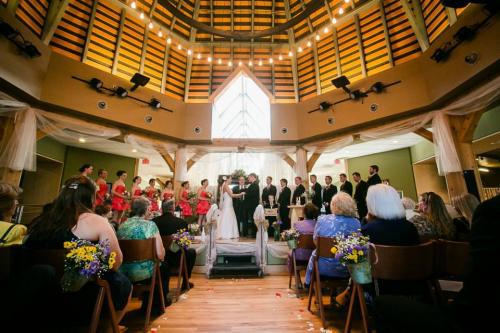 Heartwood Wedding temple