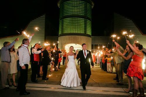 Heartwood Wedding...sparklers