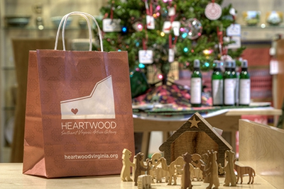 Christmas at Heartwood in Abingdon, VA