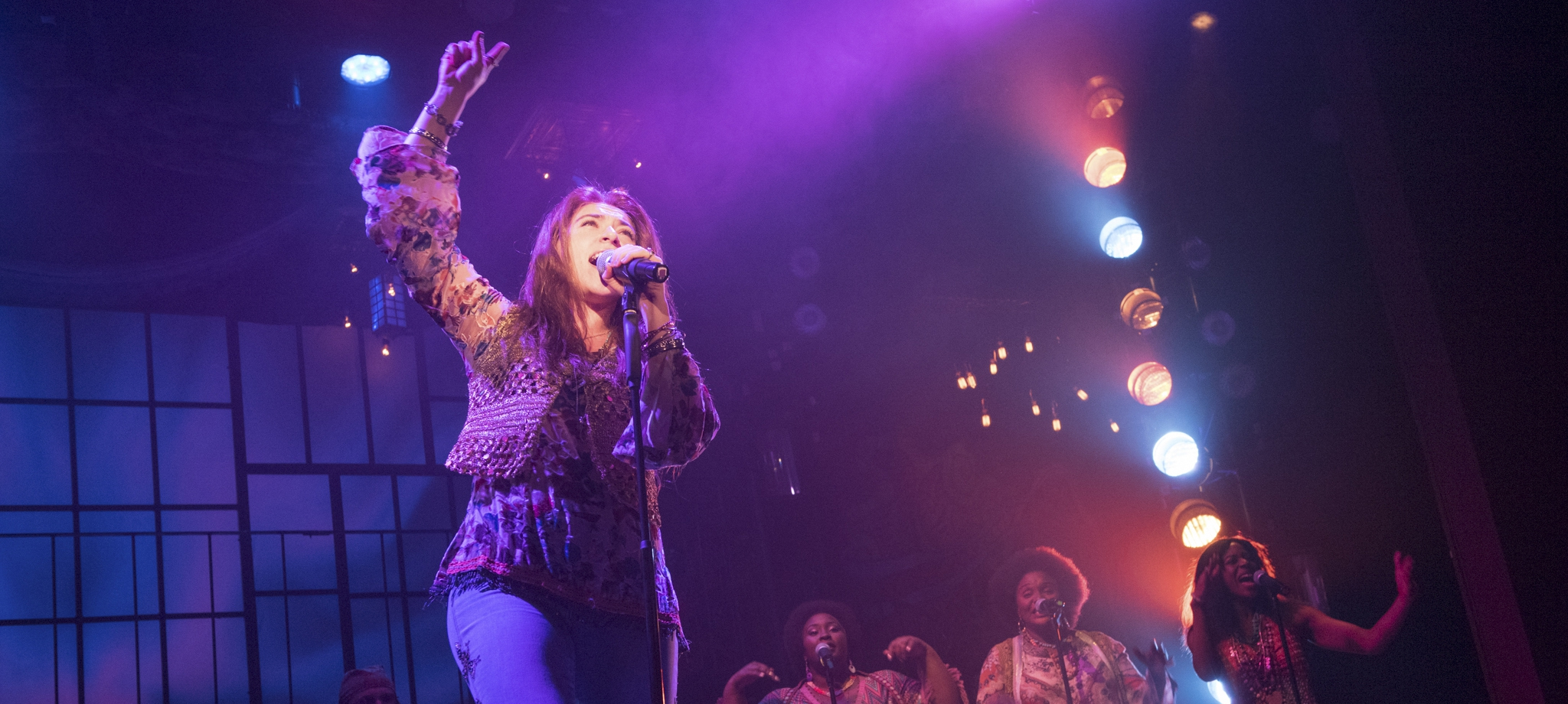 "A performance of ""A Night with Janis Joplin"" at Barter Theatre, August 2016"
