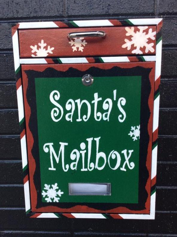 Santa's Mailbox in Abingdon, VA Christmas 2017