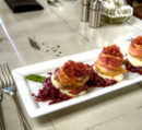Restaurant sisters american grill food plate Jason Barnette