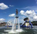 SoHo Xcursions aquapark at Sportsman's Marina