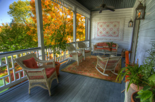 A Tailor's Lodging front porch credit Jason Barnette