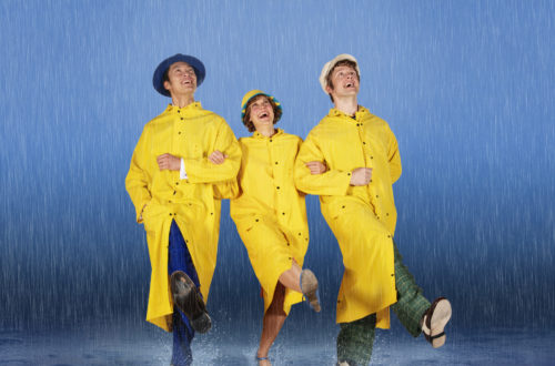 Barter Singing In The Rain Promo Pic