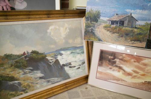 Jan Hurt art collection