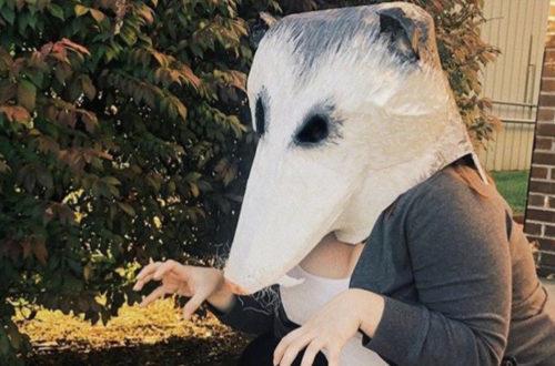 Halloween mask WKMA