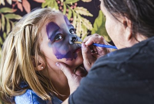 Virginia Highlands Festival Face Painting 944X424