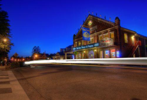 Barter Theatre exterior nighttime credit Jason Barnette