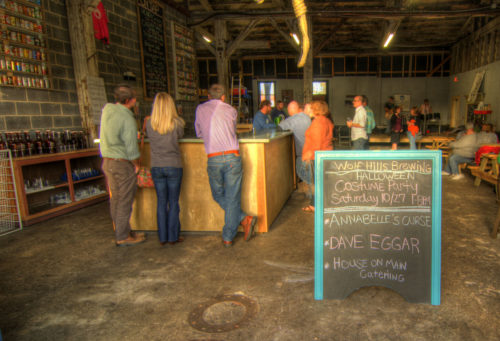 Wolf Hills Brewing interior 1 - credit Jason Barnette