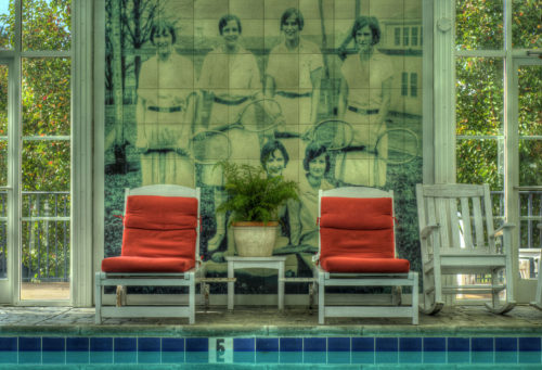 Chairs by pool at The Martha credit Jason Barnette