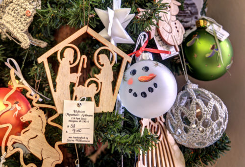 Hand crafted Christmas gifts in Heartwood credit Jason Barnette