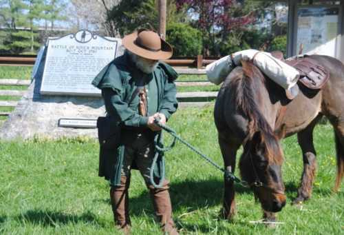 Muster Grounds Overmountain Men reenactor credit unknown