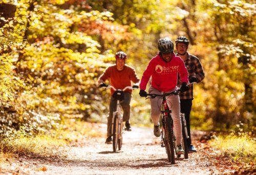 Creeper Trail Riders in fall - Sam Dean