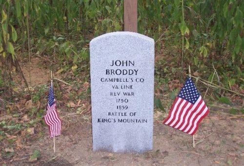 John Broddy grave