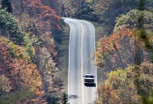 Road to the wild ponies David Allen color enhanced