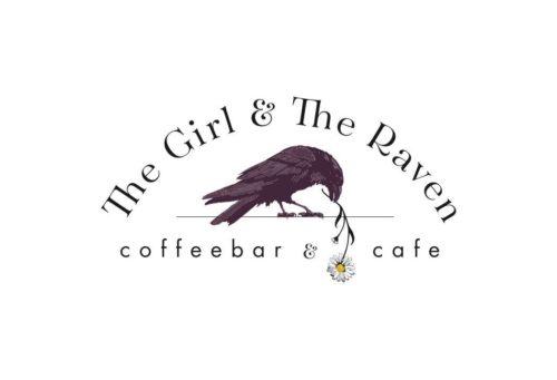 The girl the raven logo