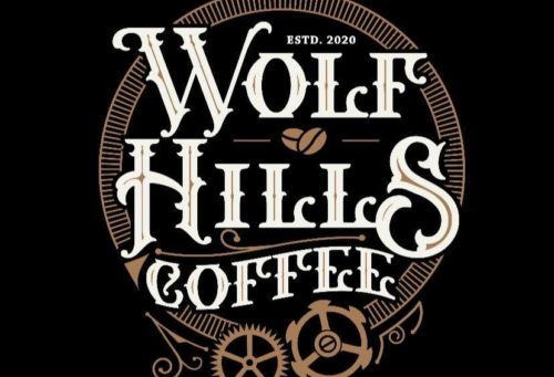 Wolf hills coffee logo