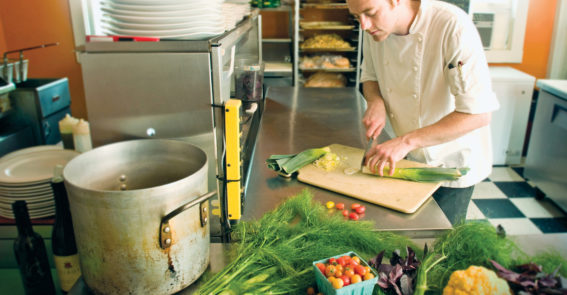 Chef Kitchen Rooted in Appalachia campaign
