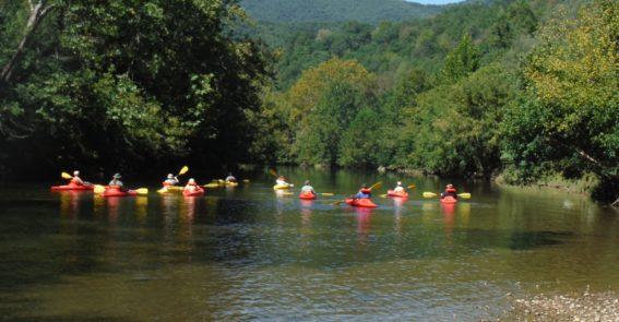 kayaking group 2